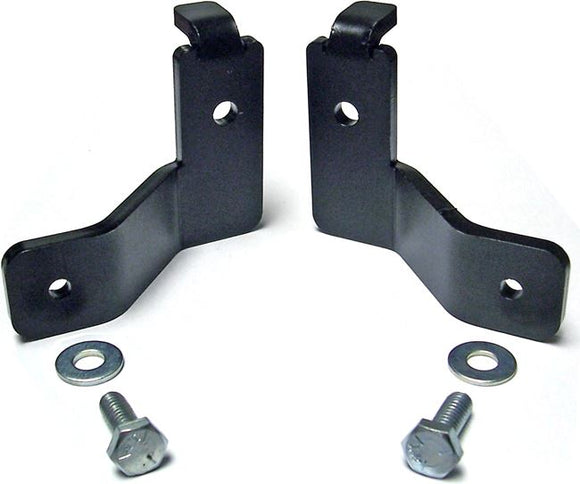 CE-9807FBLBK - JK Front Brake Hose Relocation Bracket Kit