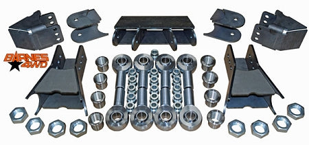 LOWER TRIANGULATED FOUR LINK SUSPENSION KIT 1 1/4 CHROMOLY HEIMS