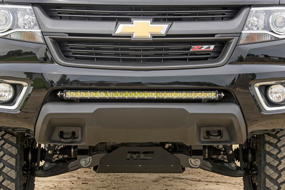 GM 30-INCH SINGLE ROW LED HIDDEN BUMPER MOUNTS (15-18 COLORADO/CANYON)
