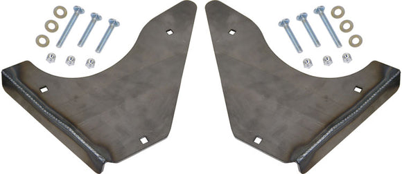 STOCK LENGTH BOLT-ON LOWER CONTROL ARM SKID PLATES 2005-2015 TOYOTA TACOMA PRERUNNER / 4WD