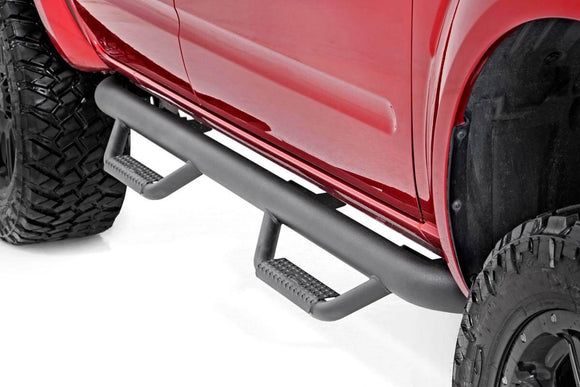 NISSAN CAB LENGTH NERF STEPS (05-18 FRONTIER CREW CAB)
