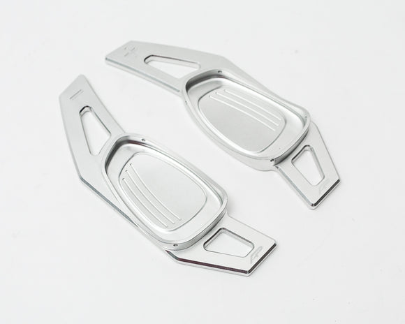 Paddle Shifter Extensions Bright Silver Audi S and RS