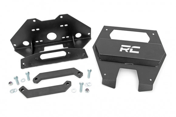 POLARIS WINCH MOUNTING PLATE (2020-2021 RZR PRO XP)