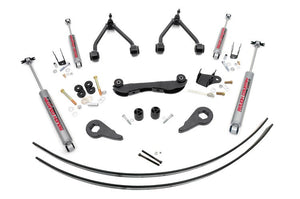 2 - 3IN GM SUSPENSION LIFT KIT (REAR ADD-A-LEAFS) Chevy, GMC 88-98 1500 Pickup 4WD 92-99 1500 Suburban 4WD
