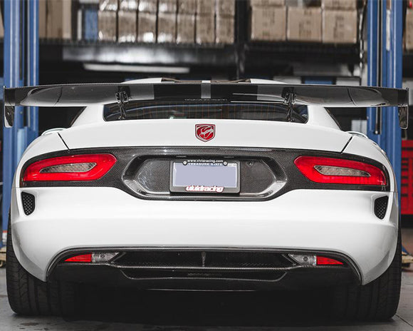 Carbon Fiber GT Wing Dodge SRT Viper 13
