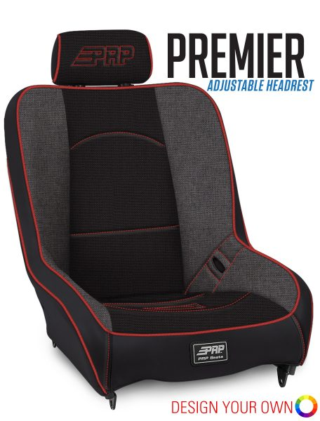 Premier with Adjustable Headrest