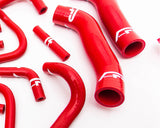 14pc Red Silicone Radiator Hose Kit Nissan GT-R R35 09-18