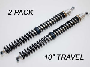 "2.25"" - 10"" Travel (2) Shock & Spring Packages"
