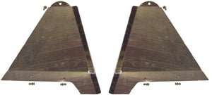 "LONG TRAVEL LOWER CONTROL ARM SKID PLATES +2"" 2005-2015 TOYOTA TACOMA PRERUNNER / 4WD"