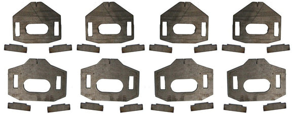 LOWER CONTROL ARM CAM TAB GUSSETS 2005-2015 Tacoma | 2007-2009 FJ Cruiser | 2003-2009 4Runner | 2003-2009 GX 470