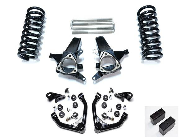 EXTENDED TRAVEL LIFT KIT | 1999-2007 1500 2WD PICKUP / CREW CAB* | 7