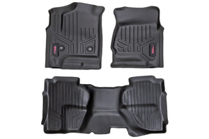 HEAVY DUTY FLOOR MATS [FRONT/REAR] - (14-18 CHEVY SILVERADO / GMC SIERRA)