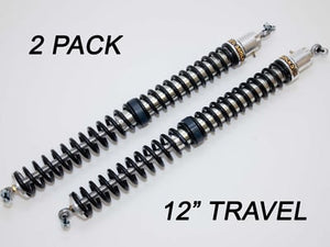 "2.25"" - 12"" Travel (2) Shock & Spring Packages"