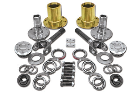 Spin Free Locking Hub Conversion Kit For Dana 30 & Dana 44 TJ, XJ, YJ, 27 Spline, 5 X 4.5