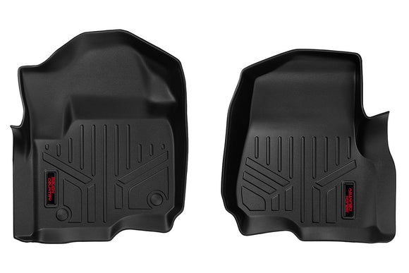 HEAVY DUTY FLOOR MATS [FRONT] - (17-18 FORD SUPER DUTY)
