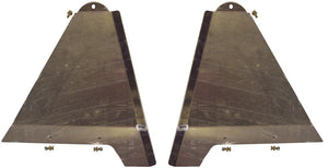 "LONG TRAVEL LOWER CONTROL ARM SKID PLATES +3.5"" 2003-2009 TOYOTA 4RUNNER 2WD / 4WD"