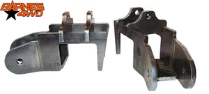 ROCKWELL LOWER CONTROL ARM BRACKETS WITH SHOCK TABS PAIR