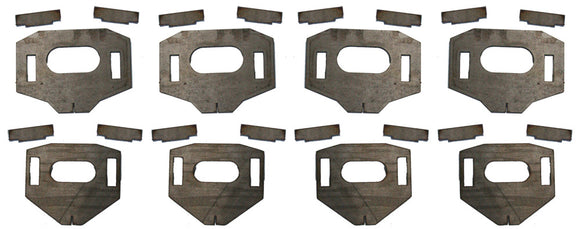 LOWER CONTROL ARM CAM TAB GUSSETS 1996-2004 TOYOTA TACOMA PRERUNNER / 4WD