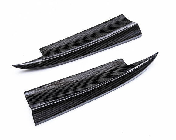Carbon Fiber Rear Bumper Finish Panels Mercedes-Benz CLA250 14-17