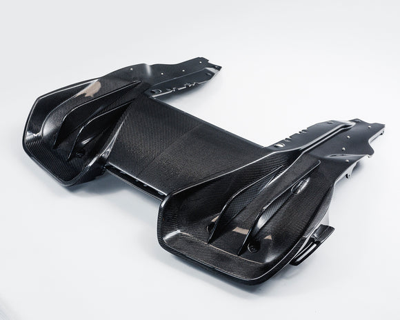 Carbon Fiber Rear Diffuser McLaren MP4-12C | 650S