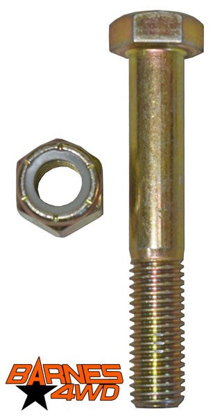 3/4 X 4 GRADE EIGHT BOLT AND NYLOCK NUT