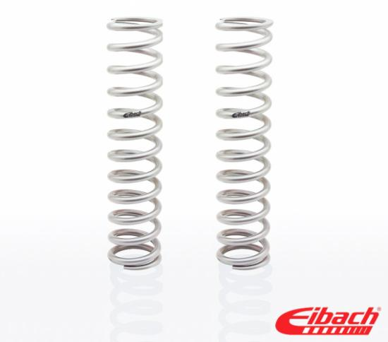 EIBACH COIL SPRING SILVER 3 INCH ID X 8 INCH LENGTH X 400 LBS PER INCH SPRING RATE EACH