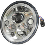 7″ VORTEX LED HEADLIGHT E-MARK\ADR