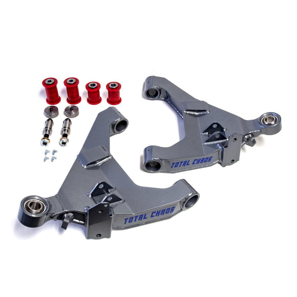 STOCK LENGTH 4130 EXPEDITION SERIES LOWER CONTROL ARMS W/ KDSS MOUNTS - NO SECONDARY SHOCK MOUNTS TOYOTA 4RUNNER 2010+
