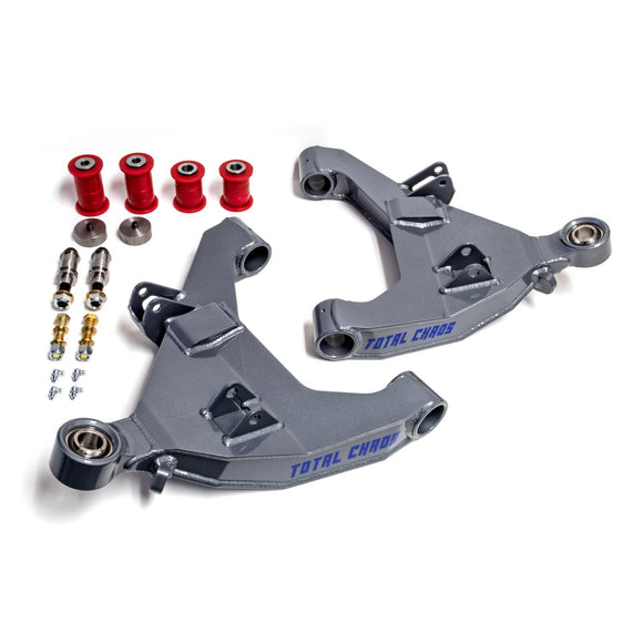 STOCK LENGTH 4130 EXPEDITION SERIES LOWER CONTROL ARMS - NO SECONDARY SHOCK MOUNTS 2003-2009 4Runner | 2003-2009 GX 470 | 2007-2009 FJ Cruiser