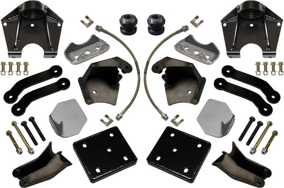 REAR SHOCK MOUNT KIT & LEAF SPRING CONVERSION 2ND GEN TOYOTA TUNDRA 2007-2021