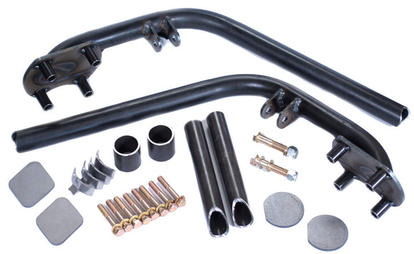 DUAL SHOCK HOOPS - LONG TRAVEL CONTROL ARMS 2ND GEN TOYOTA TUNDRA 2007-2021shock