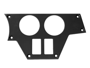 2 Gauge 2 Switch Dash Plate – Right side (XP/XP4 1000)