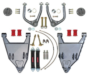 "3RD GEN 4RUNNER LONG TRAVEL +3.5"" BOXED LOWER CONTROL ARMS  #96000BK-4H"