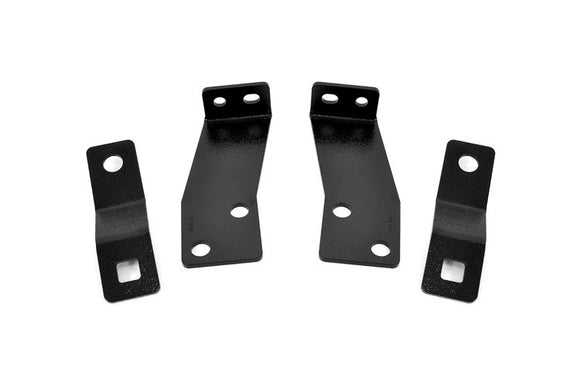 JEEP REAR BUMPER BRACKETS (07-18 JK WRANGLER)