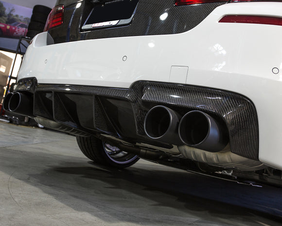 Carbon Fiber Rear Diffuser BMW F10 M5 12-17