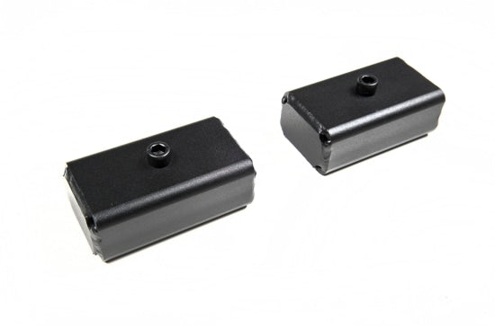 "ZONU3024 2"" REAR LIFT BLOCKS - 18MM PINS 11-15 CHEVY HD2IN 18MM PIN BLOCKS (PAIR)"