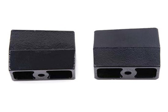 "ZONU3040 4"" REAR / SUSP. LIFT BLOCKS - 9/16"" PINS 4IN TAPERED LIFT BLOCKS"