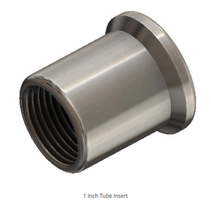 "1"" -14 RIGHT HAND THREAD TUBE INSERT FOR 1 1/4 INCH ID TUBING"