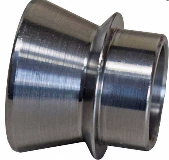 5/8 TO 1/2 HIGH MISALIGNMENT SPACER ZINC PLATED STEEL 1 1/2 INCH MOUNTING WIDTH