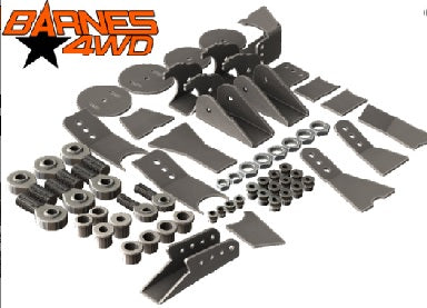 1 1/4 HEIM JOINT 3 LINK KIT, STANDARD LOWERS, 1-1/4 UPPERS