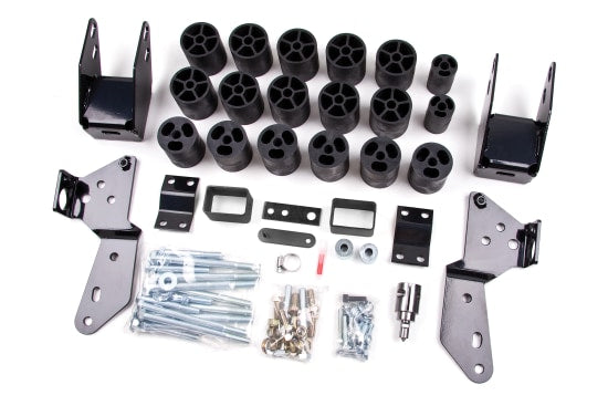 "ZONC9350 3"" BODY LIFT KIT 2007-2013 SILVERADO/SIERRA 1500"