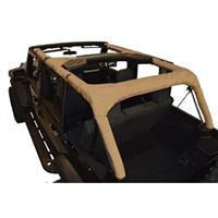 Replacement Roll Bar Cover Fits 2007 to 2016 JK Wrangler Unlimited and Rubicon Unlimited