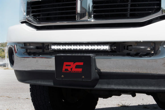 RAM 20-INCH LED LIGHT BAR HIDDEN BUMPER KIT (03-18 2500/3500)