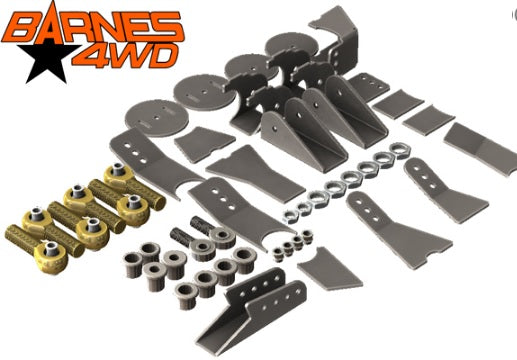 1-1/4 ENDURO 3 LINK, 7 COIL SPRING COMBO LOWERS, 5/8 BOLT HOLE