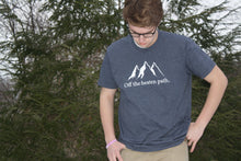 Off the Beaten Path Short Sleeve Tee- Navy