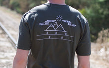 Simple Scenery Short Sleeve Tee- Olive