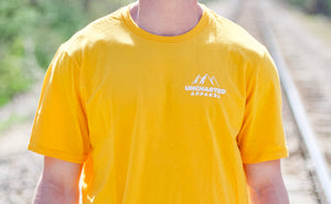 Sunset Short Sleeve Tee- Gold