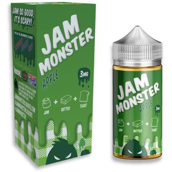 Apple by JAM MONSTER-E-Liquid-Pirate Point Vape