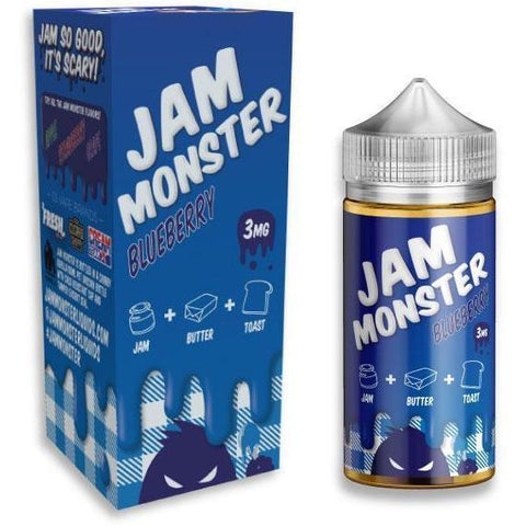 Blueberry by JAM MONSTER-E-Liquid-Pirate Point Vape