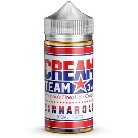 Cinnaroll by CREAM TEAM-E-Liquid-Pirate Point Vape